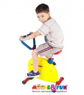 Велотренажер Moove&Fun SH-02W