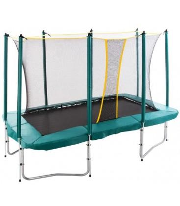Дачный батут для детей с защитной сеткой Hasttings Square 6ft х 9ft