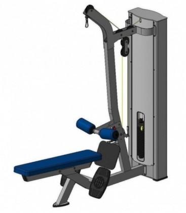 Блок для мышц спины Х118