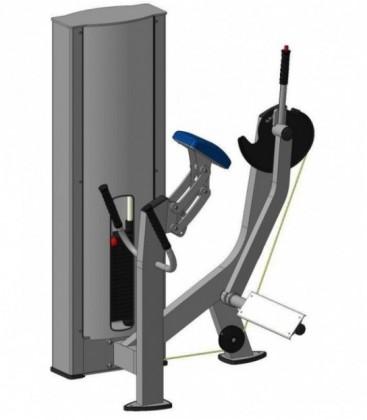 Тренажер для ягодичных мышц радиальный Х131