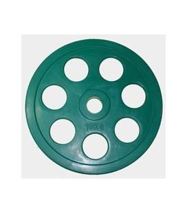 Олимпийский диск евро-классик с хватом Ромашка, 10 кг