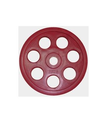 Олимпийский диск евро-классик с хватом Ромашка, 25 кг